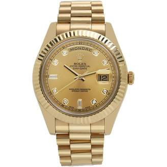 Rolex Day-Date II 40mm Gold Yellow gold Watches