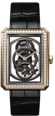 Chanel BOYFRIEND Skeleton Watch