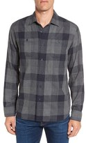 Grayers Men's Chatsworth Trim Fit Plaid Double Woven Sport Shirt