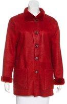 Bogner Short Shearling Coat