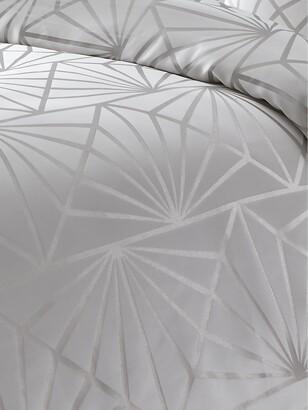 Very Luxe Zigzag Geo Duvet Cover Set