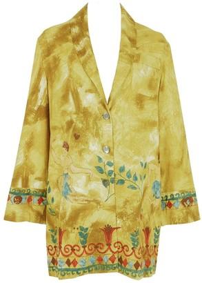 Romeo Gigli Multicolour Cotton Jacket for Women Vintage