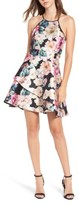Speechless Women's Floral Skater Dress
