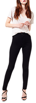 Miss Selfridge Steffi Super High Waist Skinny Jeans, Black