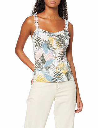 Dorothy Perkins Women's Palm Butn THR Vest Top