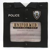 Bed Bath & Beyond Police Uniform 4-Inch x 6-Inch Photo Frame