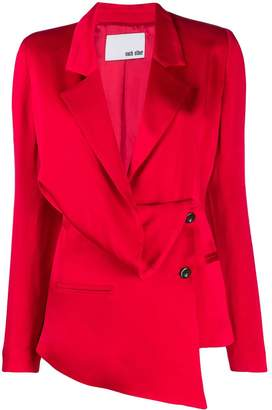 Each X Other draped tailored suit jacket