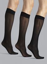 Anne Klein Three Pack TrouserSocks