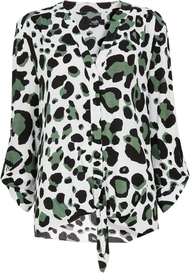 07c6e2c1d9c06e Black And White Leopard Print Top - ShopStyle UK