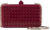 Valentino Stud embellished acrylic shoulder bag