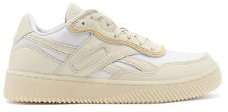 Reebok x Victoria Beckham Dual Court Ii Grained-leather Trainers - Cream