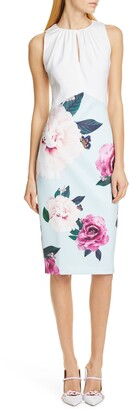 Ted Baker Annile Magnificent Ruched Body-Con Dress