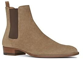 Saint Laurent Men's Wyatt Chelsea Boots