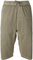 MHI loose track shorts - men - Cotton - XL
