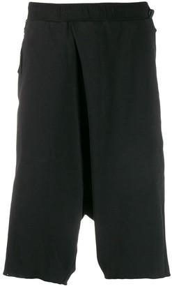 Niløs Drop-Crotch Cotton Shorts