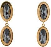 Kara Ross Hematite Drop Earrings