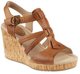 Sperry Dawn Day Leather Wedge Sandals