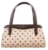 Moschino Ponyhair Polka Dot Bag
