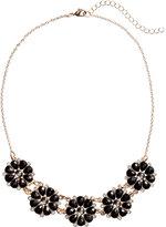 H&M Short Necklace - Black/gold-colored - Ladies