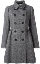 RED Valentino herringbone double breasted coat