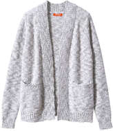 Joe Fresh Kid Girls' Open Cardi, Light Pink (Size XL)