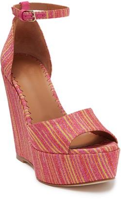 Missoni Open Toe Platform Wedge Sandal