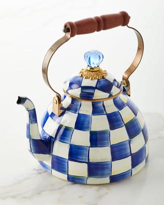 Mackenzie Childs MacKenzie-Childs Royal Check Tea Kettle