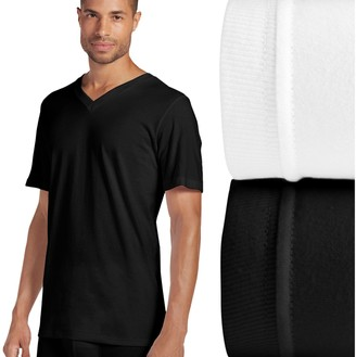 Jockey Big & Tall 2-pack Big Man Classic V-Neck Tees