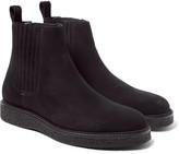 Saint Laurent Hugo Suede Chelsea Boots