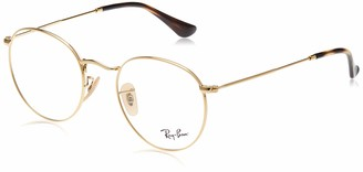 Ray-Ban Men's Round Metal 3447V Optical Frames