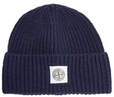Stone Island Wool-blend Knit Beanie Hat