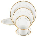Tiffany & Co. 38-Piece Gold Band Partial-Dinner Service