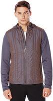 Perry Ellis Active Quilted Full Zip Jacket