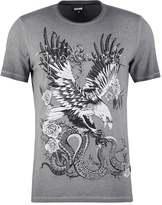 Just Cavalli Print Tshirt Grey