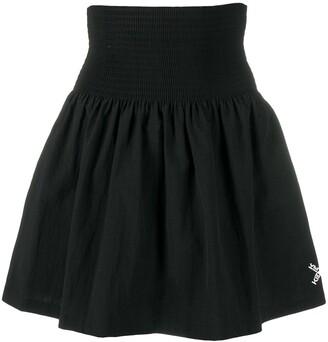 Kenzo High Waist Flared Skirt