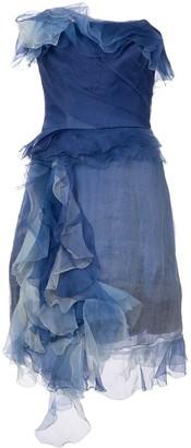 Marchesa off-the-shoulder dress