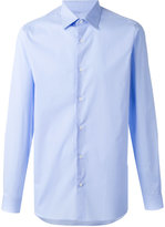 Z Zegna Popeline shirt - men - Cotton/Spandex/Elastane - 44