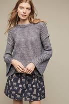 La Fee Verte Cutout Cable Sweater