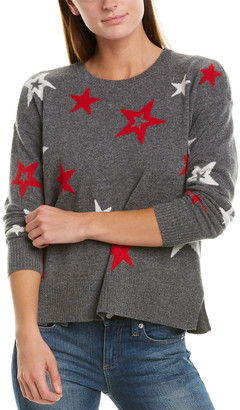 Design History Printed Cashmere Sweater