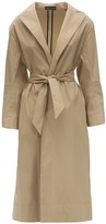 Kwaidan Editions Belted Cotton Blend Trench Coat