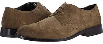 Clarks James Wing (Dark Olive Suede) Men's Shoes