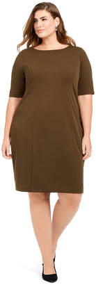 Alfani Plus Size Sheath Dress