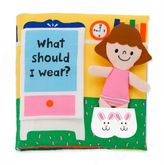 Melissa & Doug What Should I Wear? Soft Activity Book