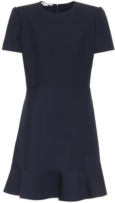 Stella McCartney Wool-blend minidress