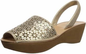 Kenneth Cole Reaction Women's Fine Glass 8 Laser Perf Slingback Wedge Sandal