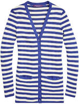Ralph Lauren Striped V-Neck Cardigan