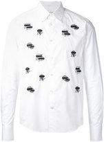 Anrealage flower wappen shirt - men - Cotton - 46