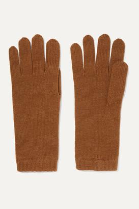 Johnstons of Elgin Cashmere Gloves - Brown