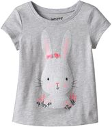 Toddler Girl Jumping Beans® Bunny Glitter Graphic Tee