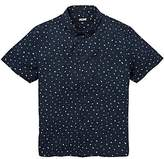 Jacamo Geo Short Sleeve Printed Shirt Long